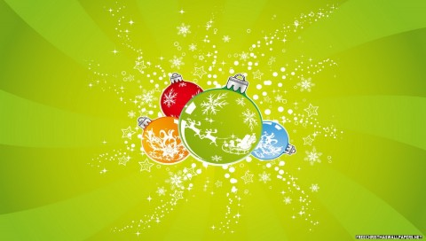 4 Beautiful Xmas Ornaments