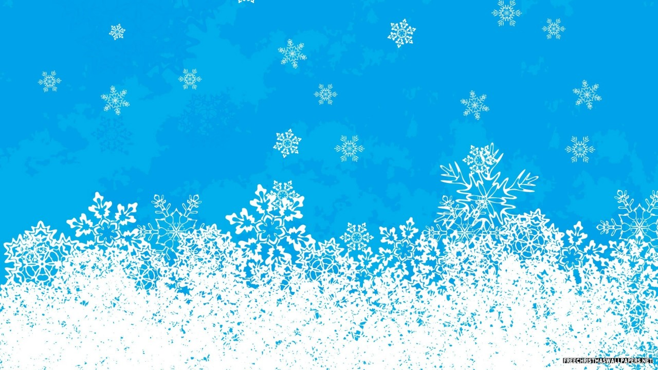 Christmas Flakes Vectored