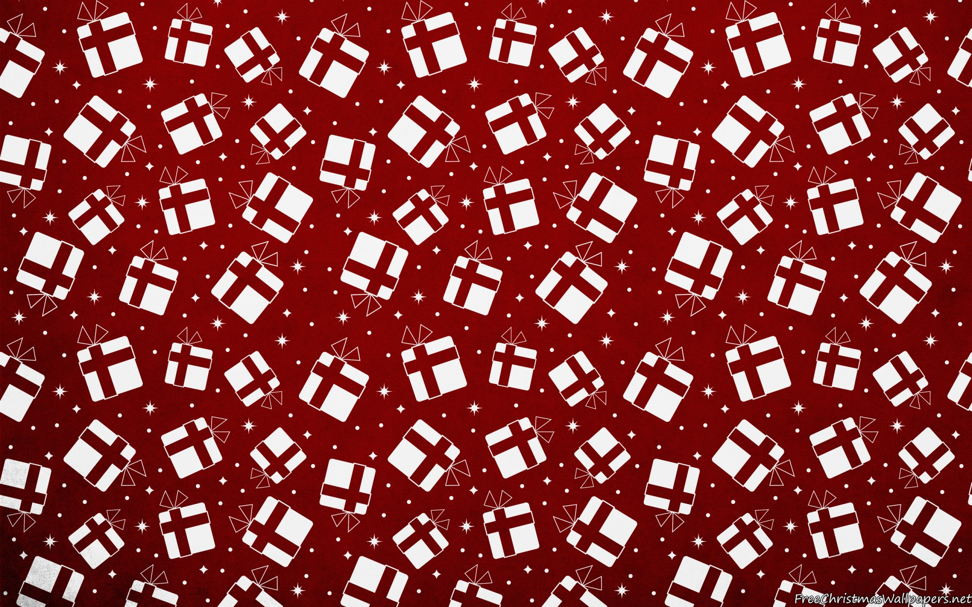Christmas Gifts Background Pattern