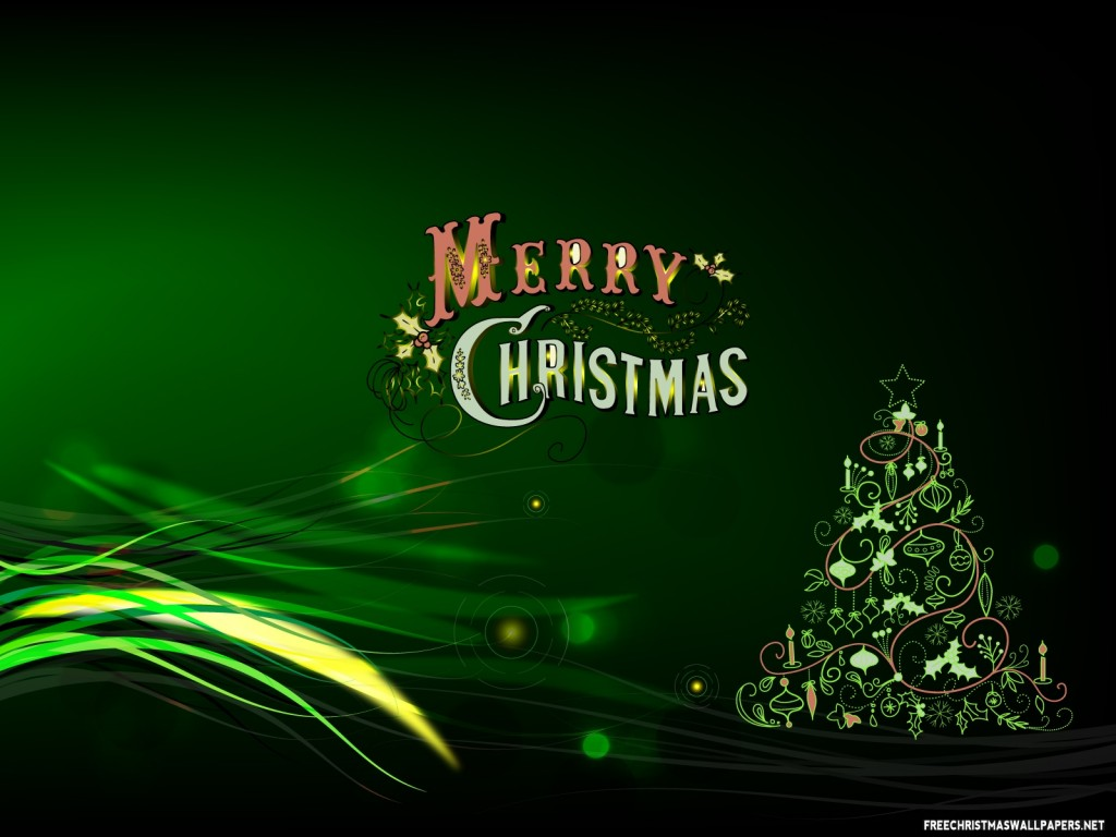 Green Merry Christmas