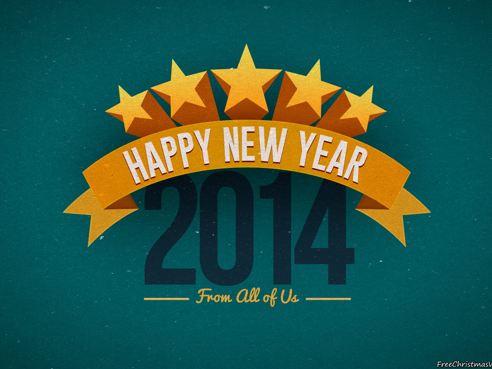 Happy New Year 2014 From All Of Us