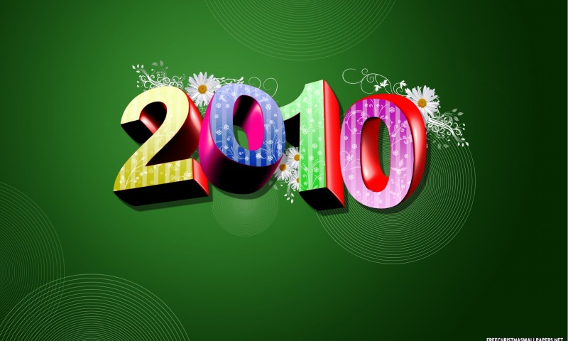 Happy New Year 3D