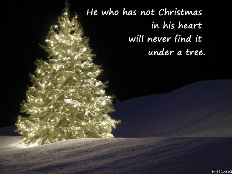 He Who Has Not Christmas