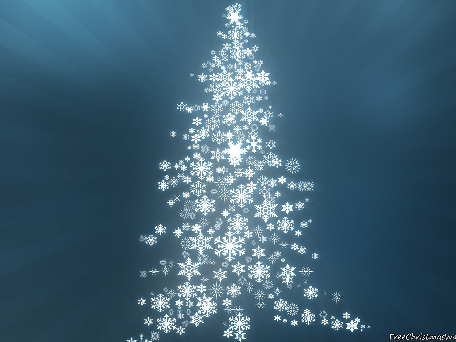 Holiday Blurred Christmas Tree