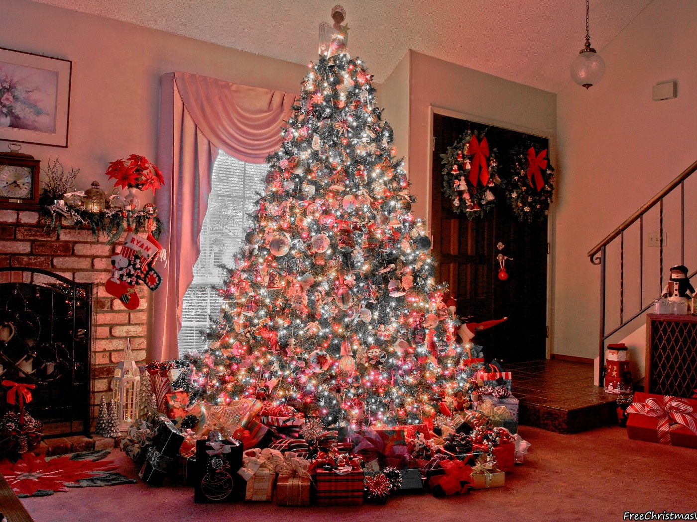 Joyful Christmas Tree Home
