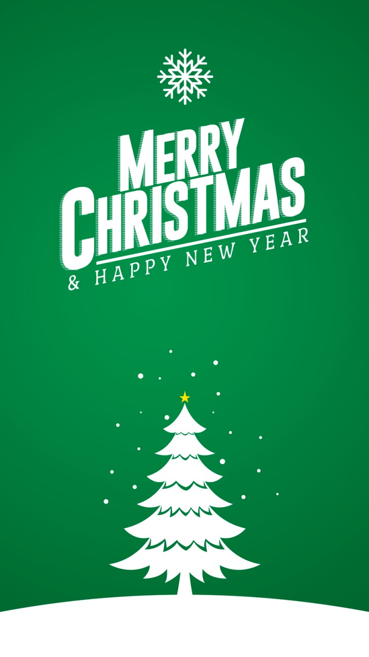 Merry Christmas Tree Card 1