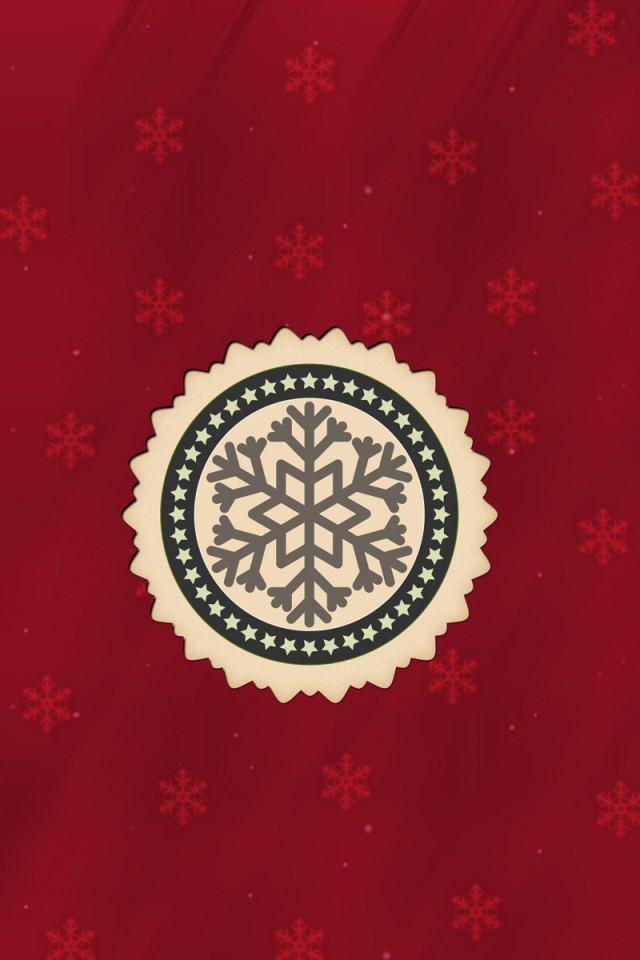 Red HD Christmas Background