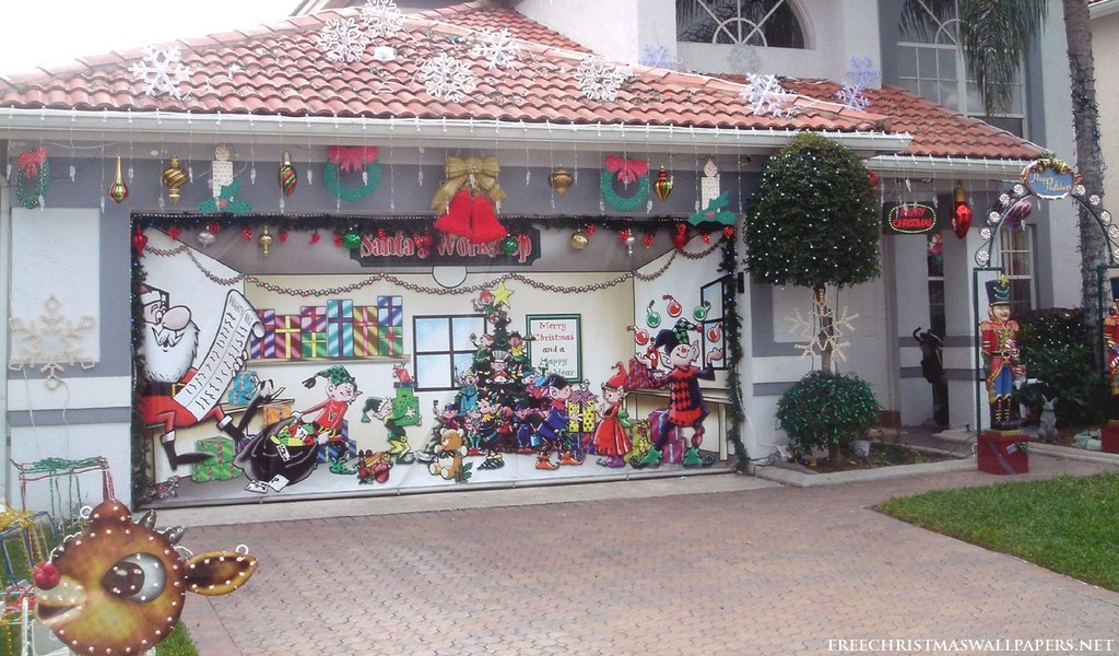 Santas Workshop House