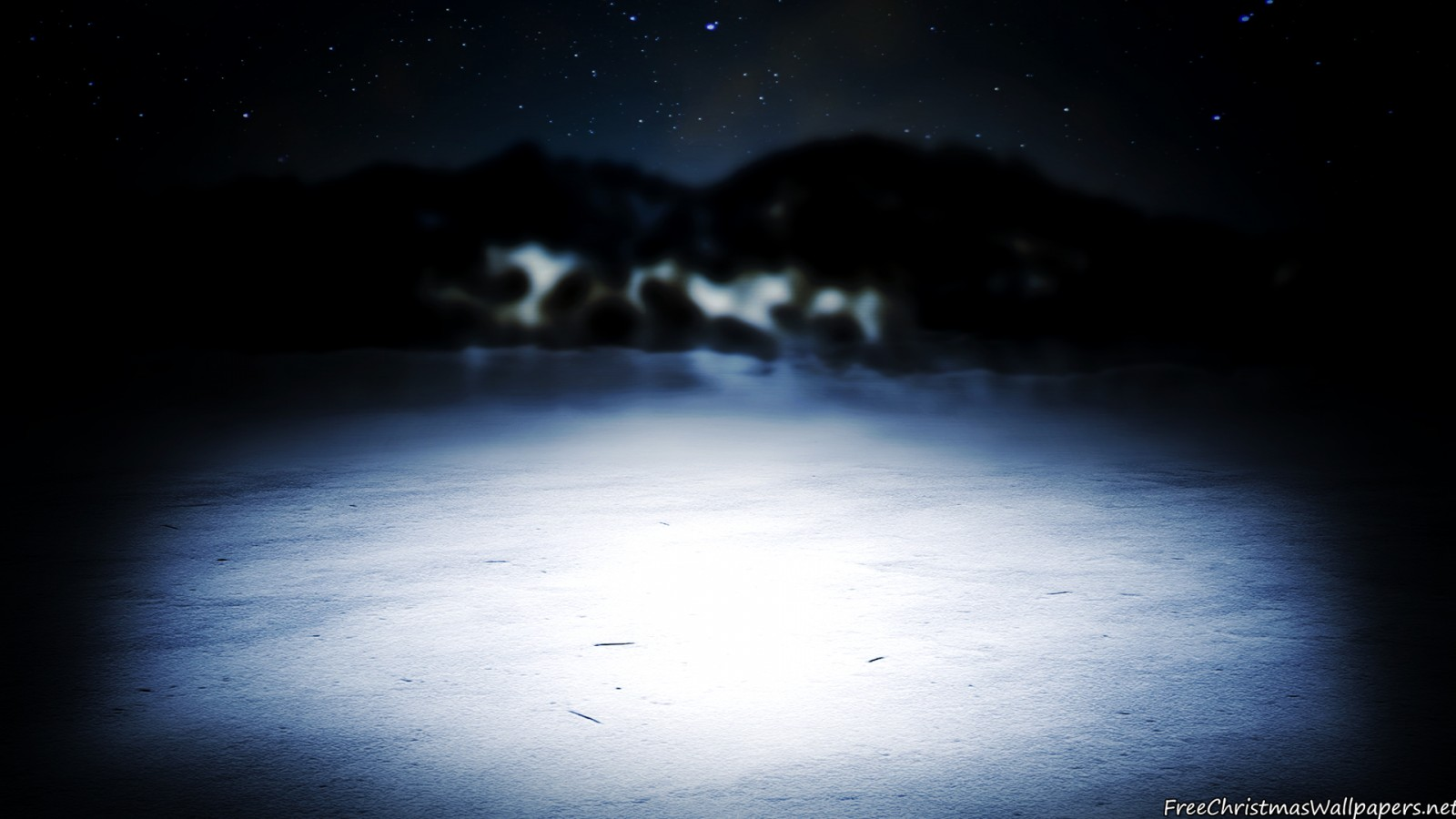 Winter Night Background