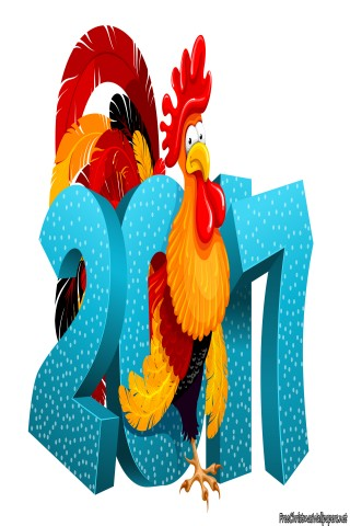 Happy New Year 2017 The Rooster Year