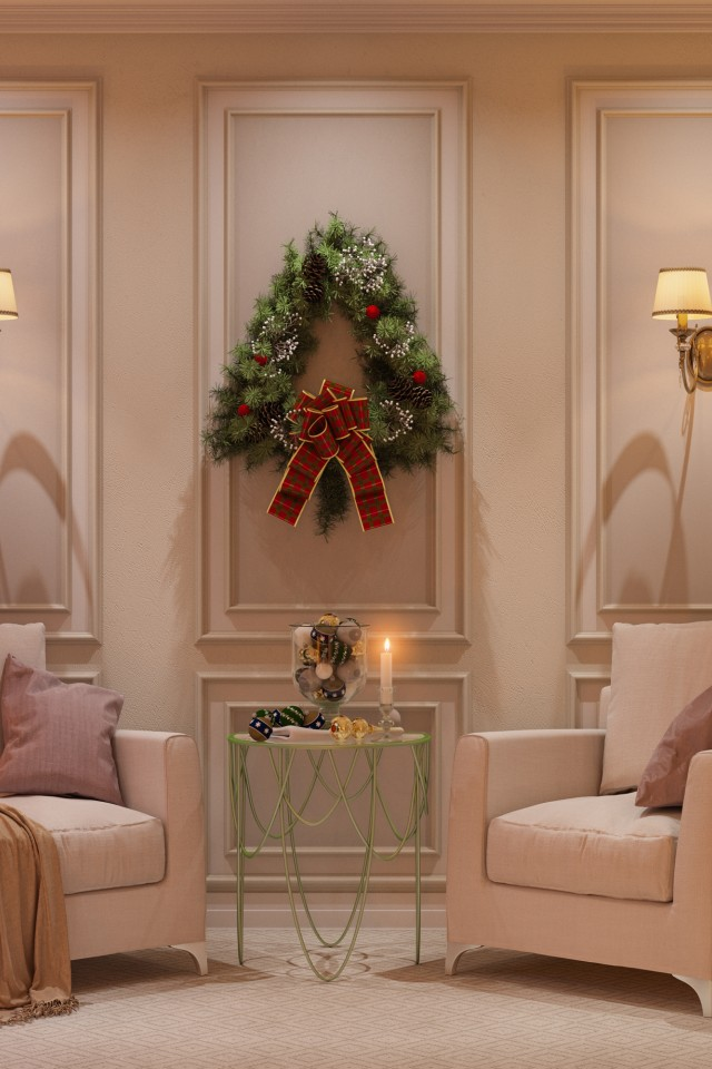 Merry Christmas Interior Design