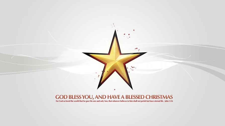 Blessed Christmas Star