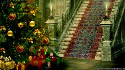 Christmas Stairs Decoration