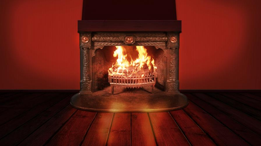 Fireplace Background