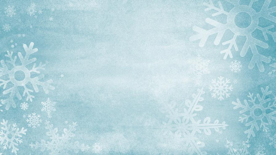 Frozen Christmas Background