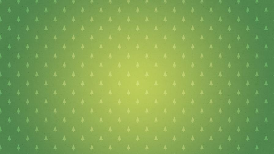 Green Christmas Minimalist Background