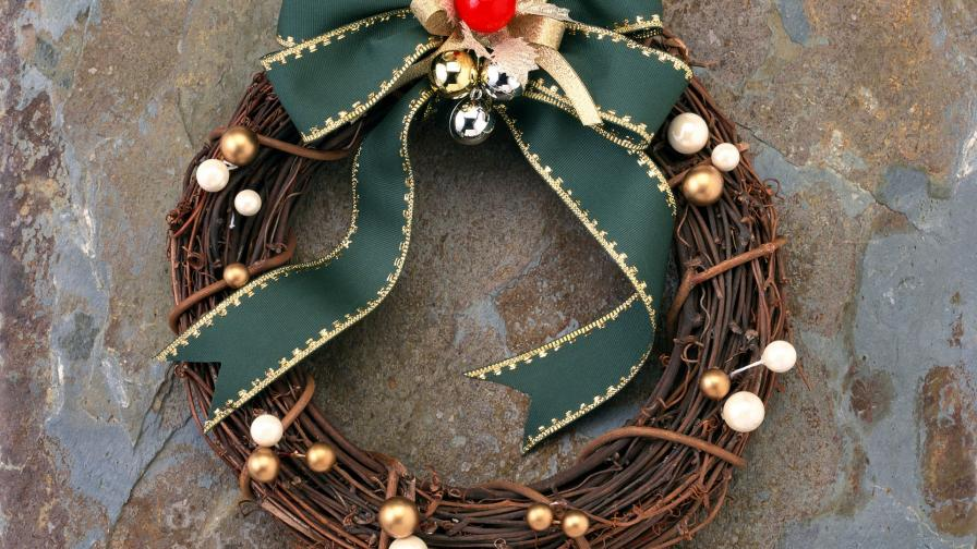 Stylish Christmas Wreath
